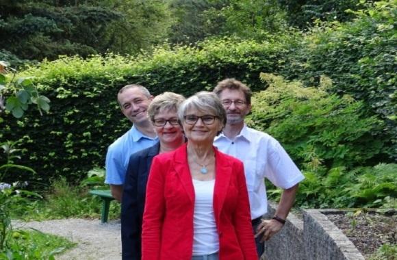 Team (v.l.n.r.: Stefan Ehrlich, Doris Wiesböck, Elfriede Gürtler und Reinhold Bieramperl)